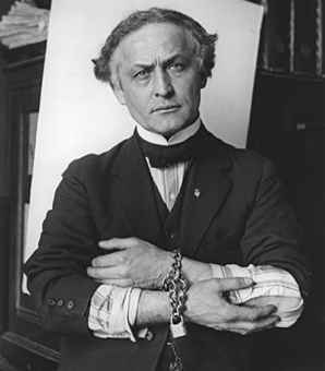 Halloween Fun Fact: Harry Houdini (1874-1926) was one of the most famous and mysterious magicians who ever lived. Strangely enough, he died in 1926 on Halloween night as a result of appendicitis brought on by three stomach punches.