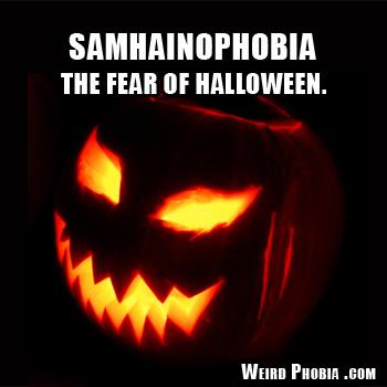 halloween fun fact samhainophobia is the fear of halloween - Strange Halloween Facts