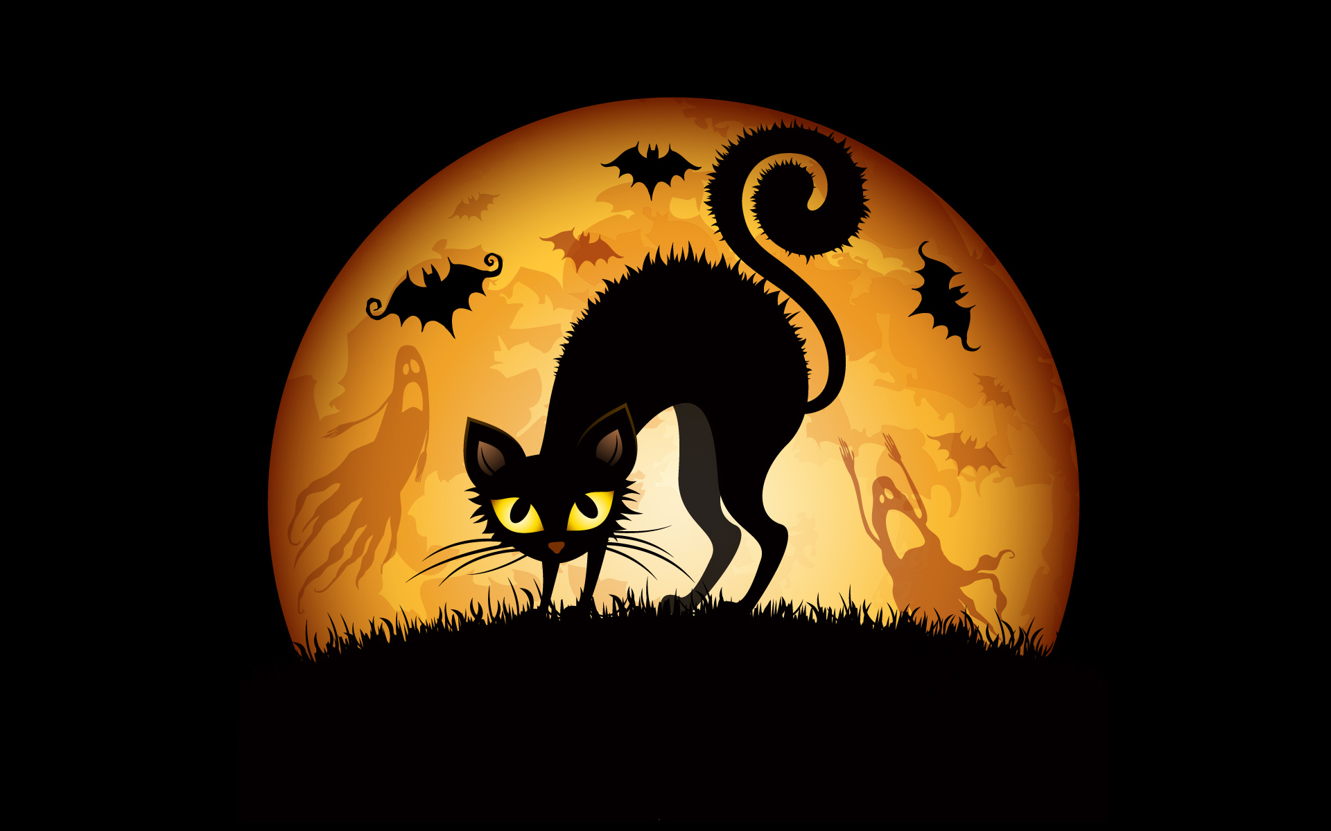 Halloween Fun Fact: With their link to the ancient Celtic festival of Samhain (a precursor to Halloween) and later to witches, cats have a permanent place in Halloween folklore. During the ancient celebration of Samhain, Druids were said to throw cats into a fire, often in wicker cages, as part of divination proceedings.