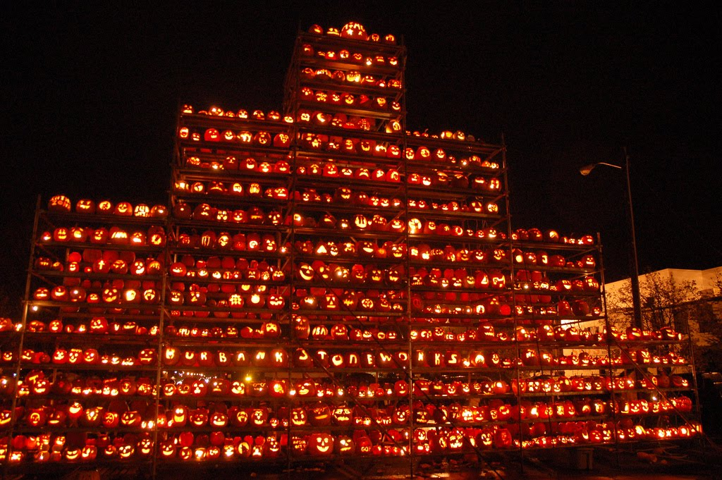 Halloween Fun Fact: Boston, Massachusetts, holds the record for the most Jack O�Lanterns lit at once (30,128).