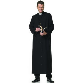 Halloween Fun Fact:  In Alabama, it is illegal to dress-up as a priest.