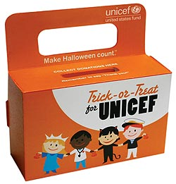 Halloween Fun Fact: In 1950, Philadelphia-based trick-or-treaters traded in a sweet tooth for a sweet action. In lieu of candy, residents collected change for children overseas and sent it to UNICEF. Subsequently, the Trick-or-Treat for UNICEF program was born.