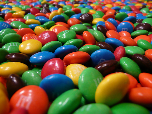 Halloween Fun Fact: The M&M in M&M's stands for Mars and Murrie. Forrest Mars, Sr., and Bruce Murrie launched the candy.