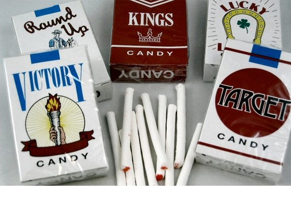 Halloween Fun Fact: The FDA�s 2009 Family Smoking Prevention and Tobacco Control Act was misinterpreted by many media outlets, who erroneously reported that the act included a ban on candy cigarettes. In fact, the ban really just affected tobacco cigarettes that had candy (or fruit) flavorings. (Candy cigs were banned in North Dakota from 1953-1967.)