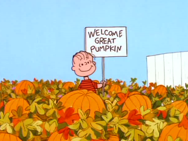 Halloween Fun Fact: Linus is the only one in the Peanuts gang who believes in the Great Pumpkin.
