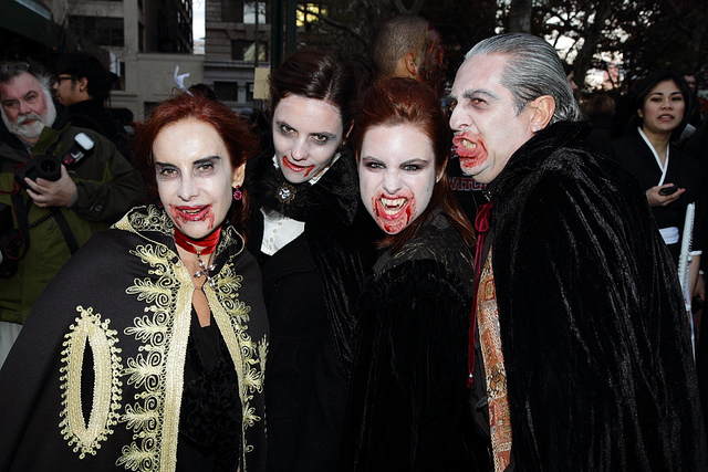 Halloween Fun Fact: To this day, there are vampire clubs and societies with people claiming to be real vampires.